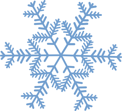 Snowflake With No Background Clipart - Clipart Kid