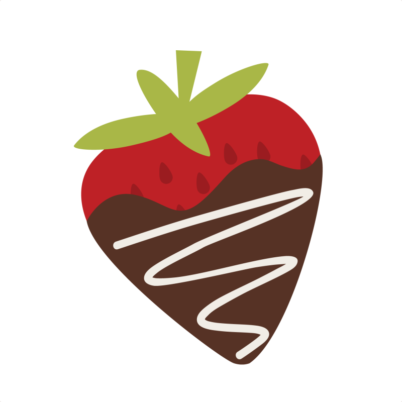 Chocolate Strawberry Clipart - Clipart Kid
