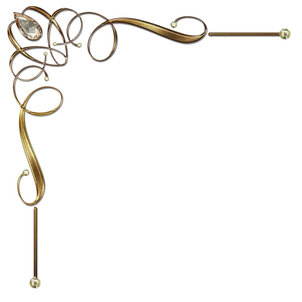 elegant gold border clipart clipart suggest