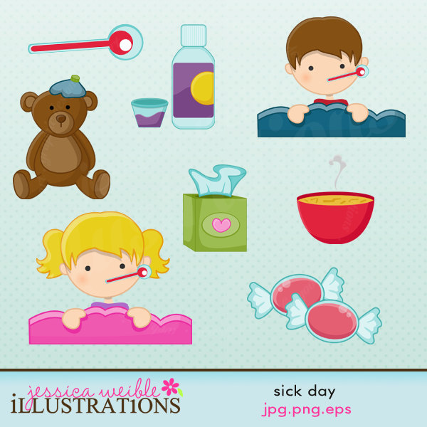 Go Back   Gallery For   Sick Day Clip Art