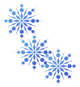 Blue Snowflake Free Clipart - Clipart Kid