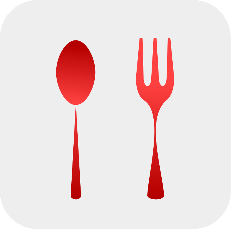 Spoon And Fork By Netalloy Spoon And Fork Icon