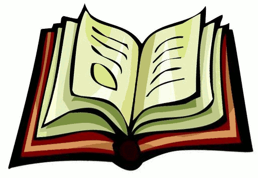 Book Clip Art   Open Book   Empty Book Page
