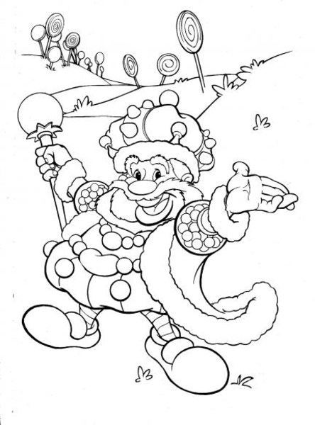 candyland characters clipart