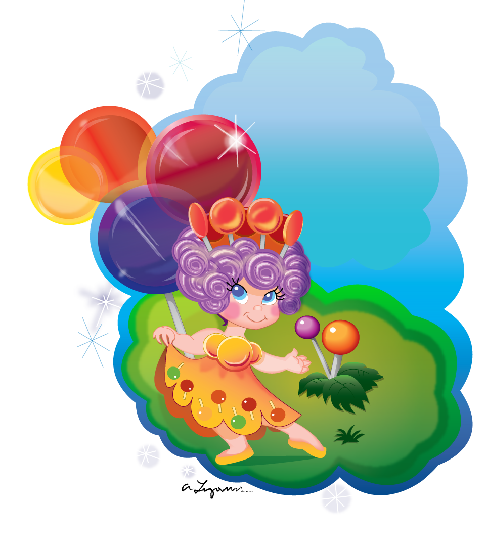 Candyland Characters Clipart - Clipart Kid