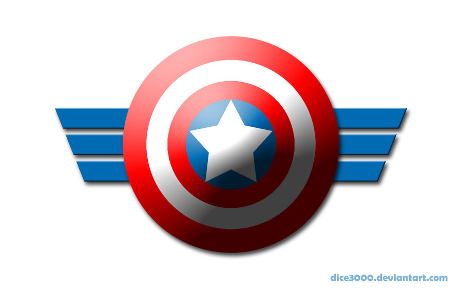 Captain America S Shield By Dice3000 On Deviantart