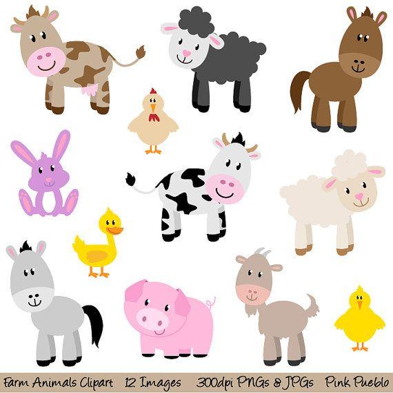 Farm Animals Clip Art Farm Animals Clipart Clip Art