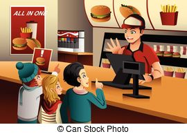 Fast Food Restaurant Clipart And Stock Illustrations  13661 Fast Food