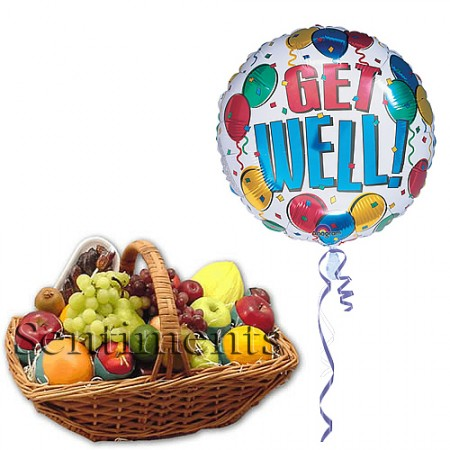 Get Get Well Soon Deluxe Fruit Baskets
