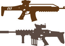 Gun Self Defense Stock Vectors Illustrations   Clipart