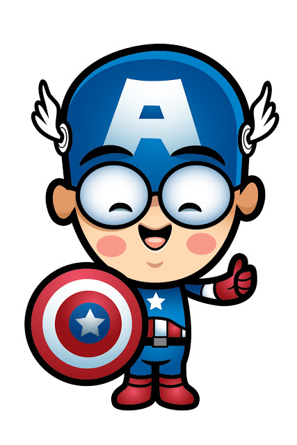 Here Is Lil Oishi As Captain America  Created By The Awesome Jerrod