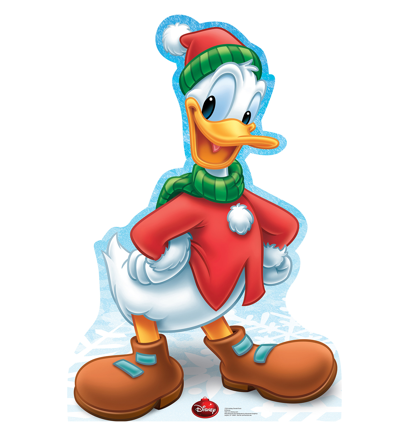 Holiday Donald Duck  Limited Time Edition