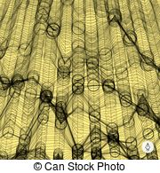 Network Abstract Background  3d Technology Vector Illustration  Vector