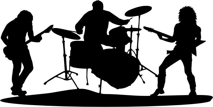 Jazz Band Silhouette Png