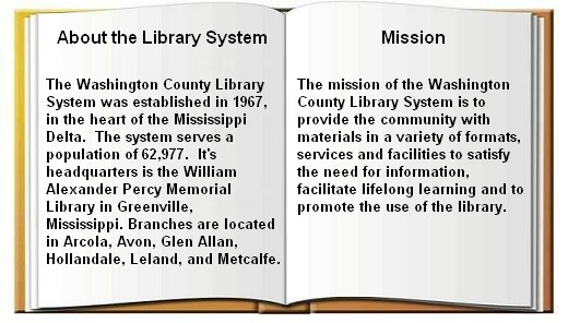 Washington County Library System About