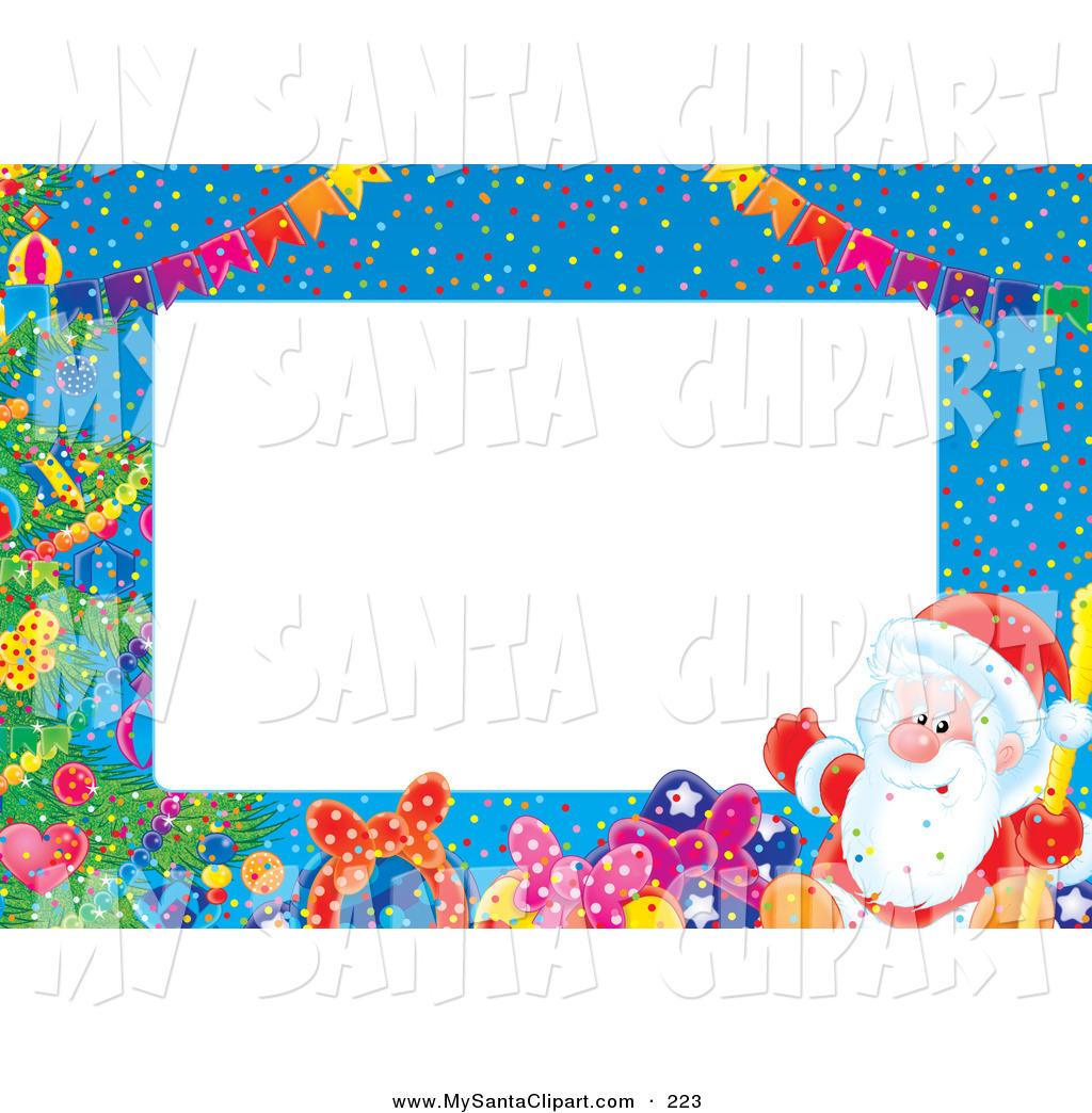 Christmas Toys Border : Christmas toys clip art borders cliparts