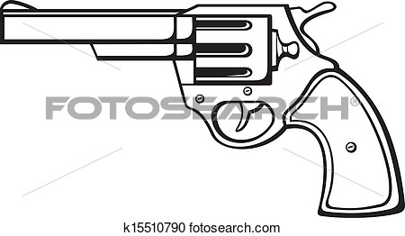 Clipart   Handgun  Fotosearch   Search Clip Art Illustration Murals