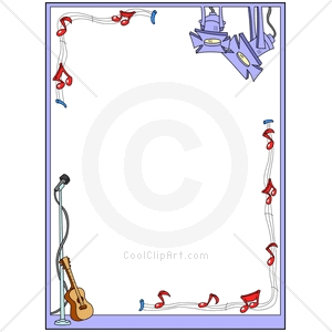 Coolclipart Com   Clip Art For  Borders Music Musical   Image Id