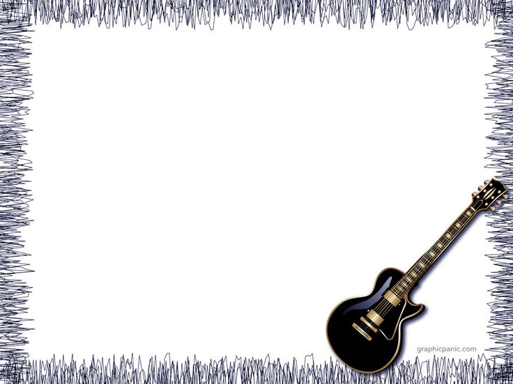 Guitar Powerpoint Background   Powerpoint Background   Templates