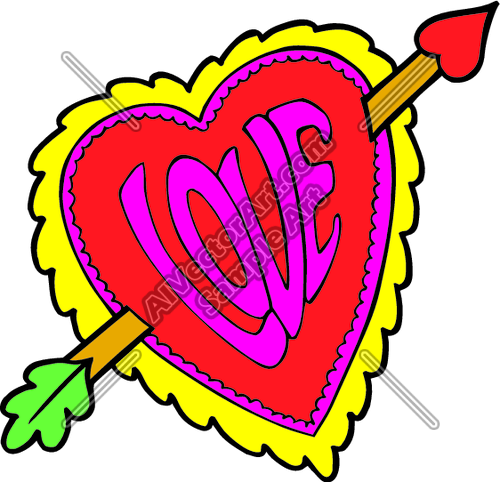Heart Clipart And Vectorart  Holidays Graphics   Valentine S Day