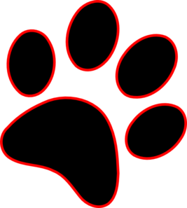 Clip Art Pawprint Clipart lion paw print clipart kid clip art at clker com vector online royalty free