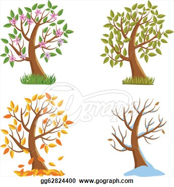 Season Tree Clip Art