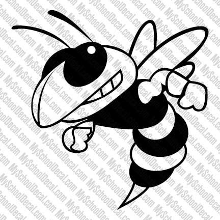 blue and white hornet clipart clipart suggest Hornet Football Clip Art Hornet School Logos