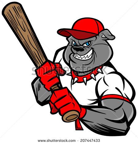 bulldog baseball logo clipart clipart suggest