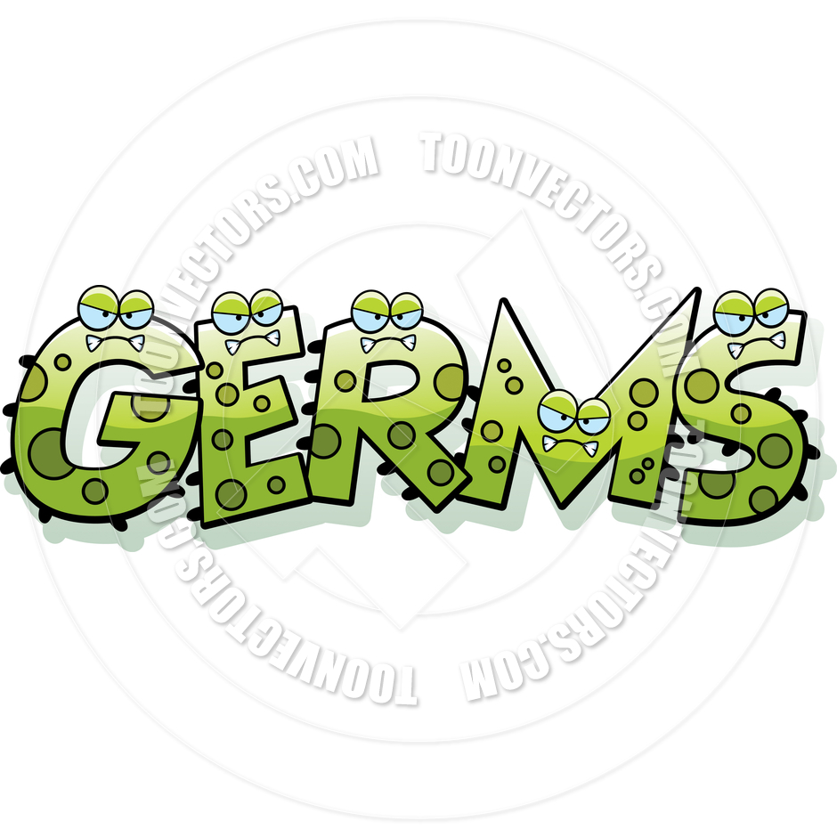 Cartoon Germs Text By Cory Thoman   Toon Vectors Eps  81205