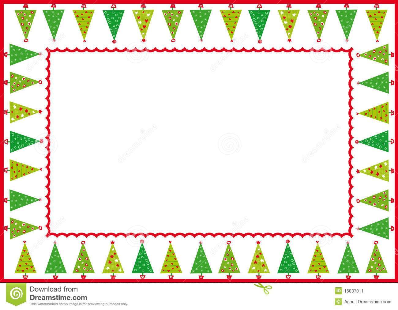 Christmas Tree Clip Art Bordersjeepwranglerpartsandaccessories