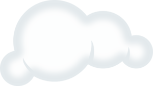 Two Little Clouds Clipart - Clipart Kid