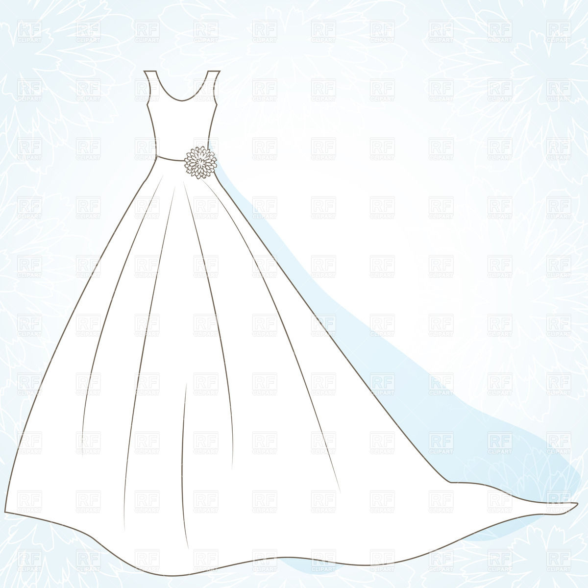 Dress 22105 Beauty Fashion Download Royalty Free Vector Clip Art