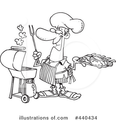 Grill Clip Art Black And White Royalty Free Rf Bbq Clipart ...