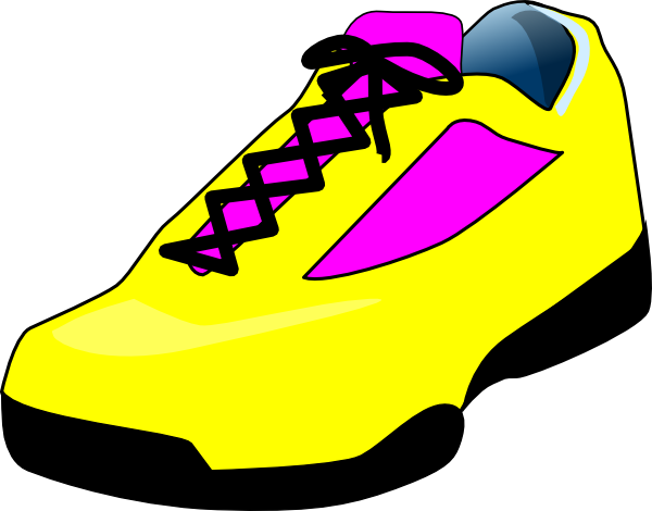 Walking Shoes Clipart ...