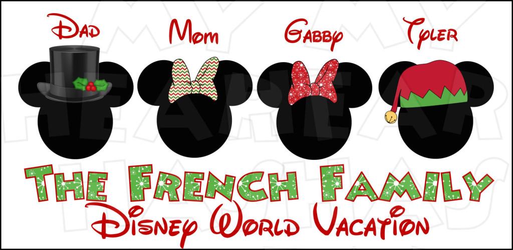 Christmas Mickey Ears Clipart - Clipart Kid