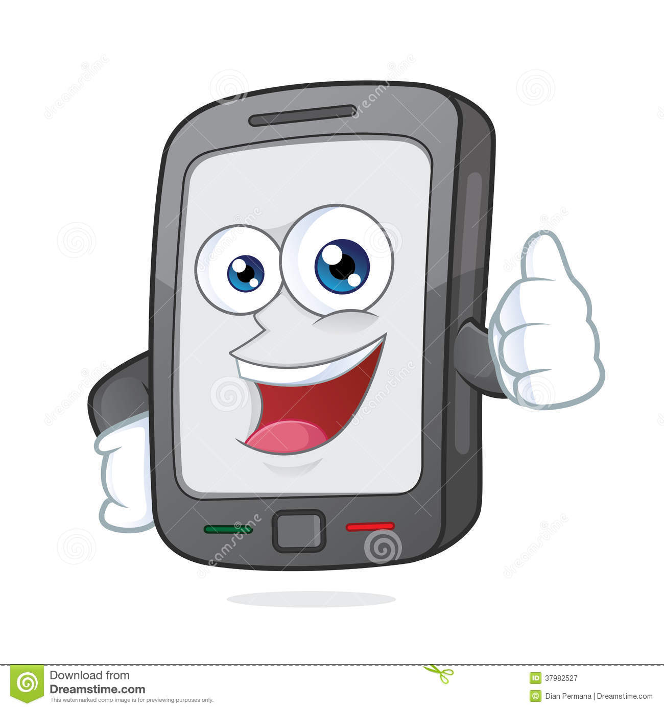 More Similar Stock Images Of   Smartphone Giving Thumb Up