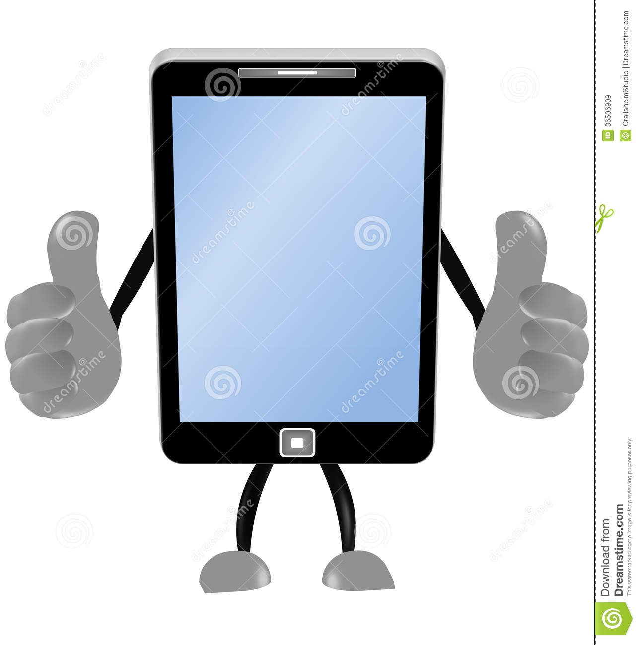 Smartphone 3d Thumbs Up Royalty Free Stock Images   Image  36506909