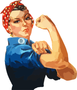 We Can Do It   Rosie The Riveter Clip Art At Clker Com   Vector Clip