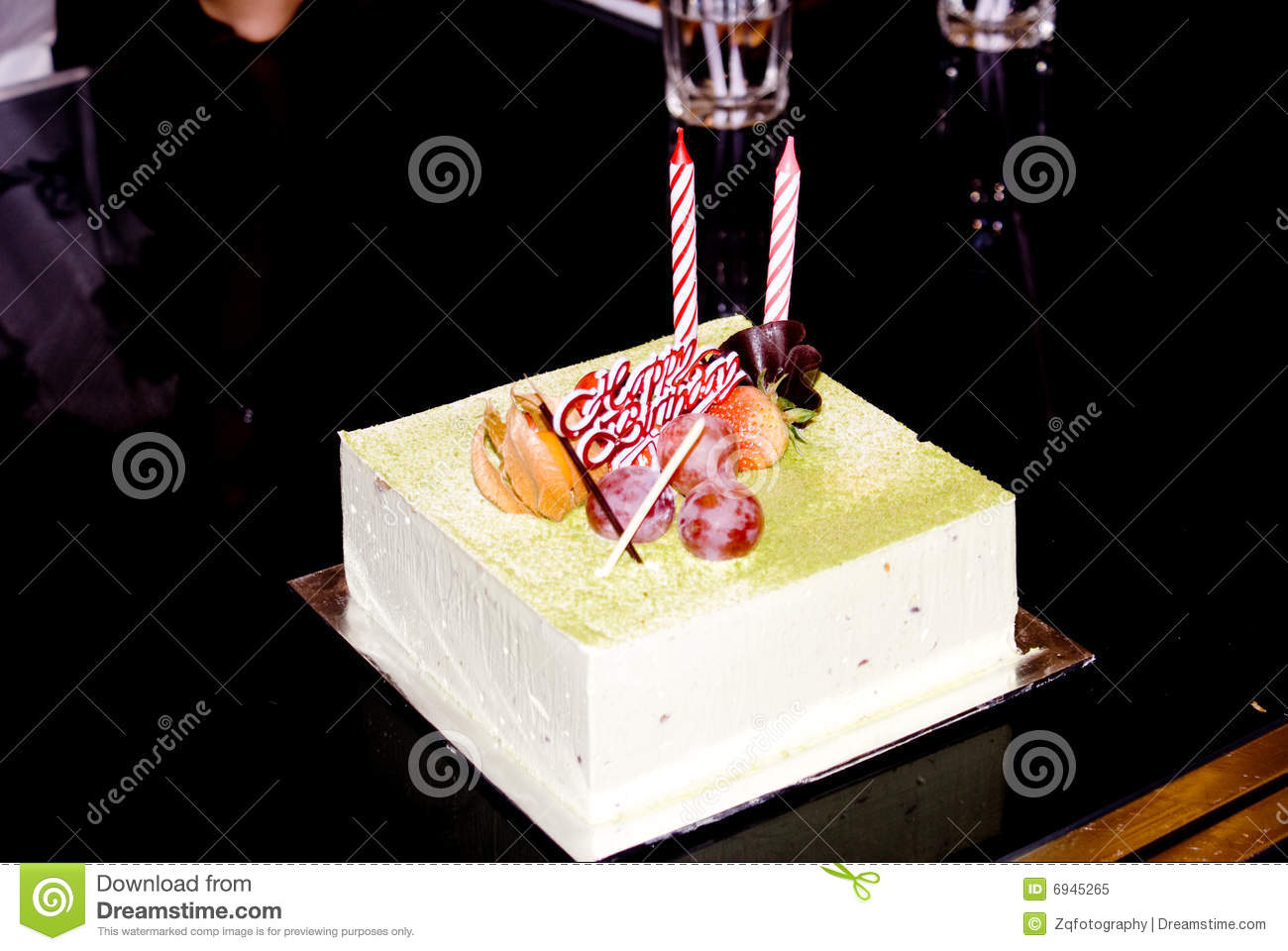 Birthday Cake Royalty Free Stock Photo   Image  6945265