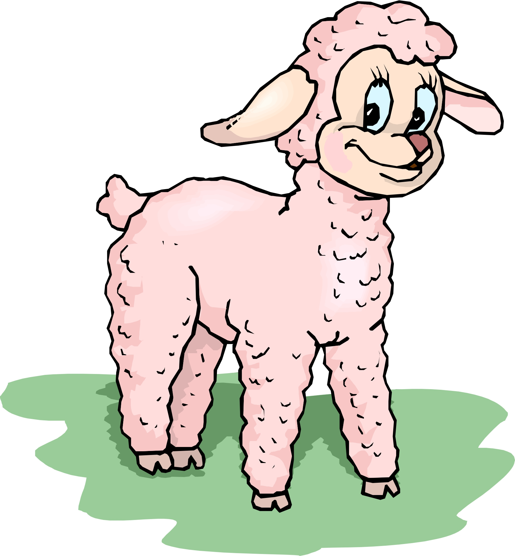 Lamb Easter Clipart - Clipart Suggest