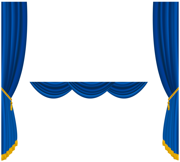 Curtains Ideas blue stage curtains : Clip Art Blue Curtains Clipart - Clipart Kid