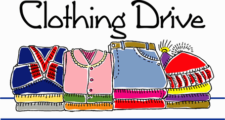 Clothing Drive Clip Art