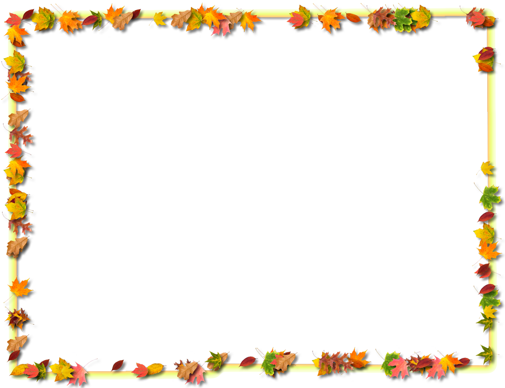 Autumn Nature Borders Clipart - Clipart Kid
