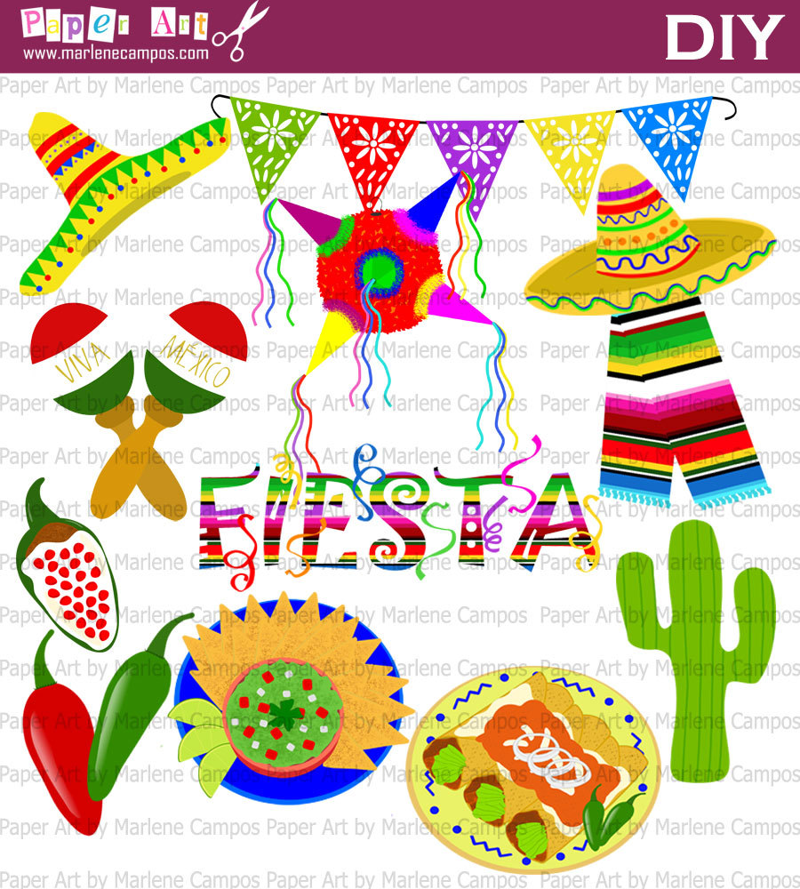 Fiesta And Backgrounds Clipart - Clipart Suggest
