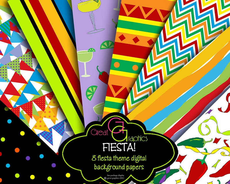 Fiesta background design