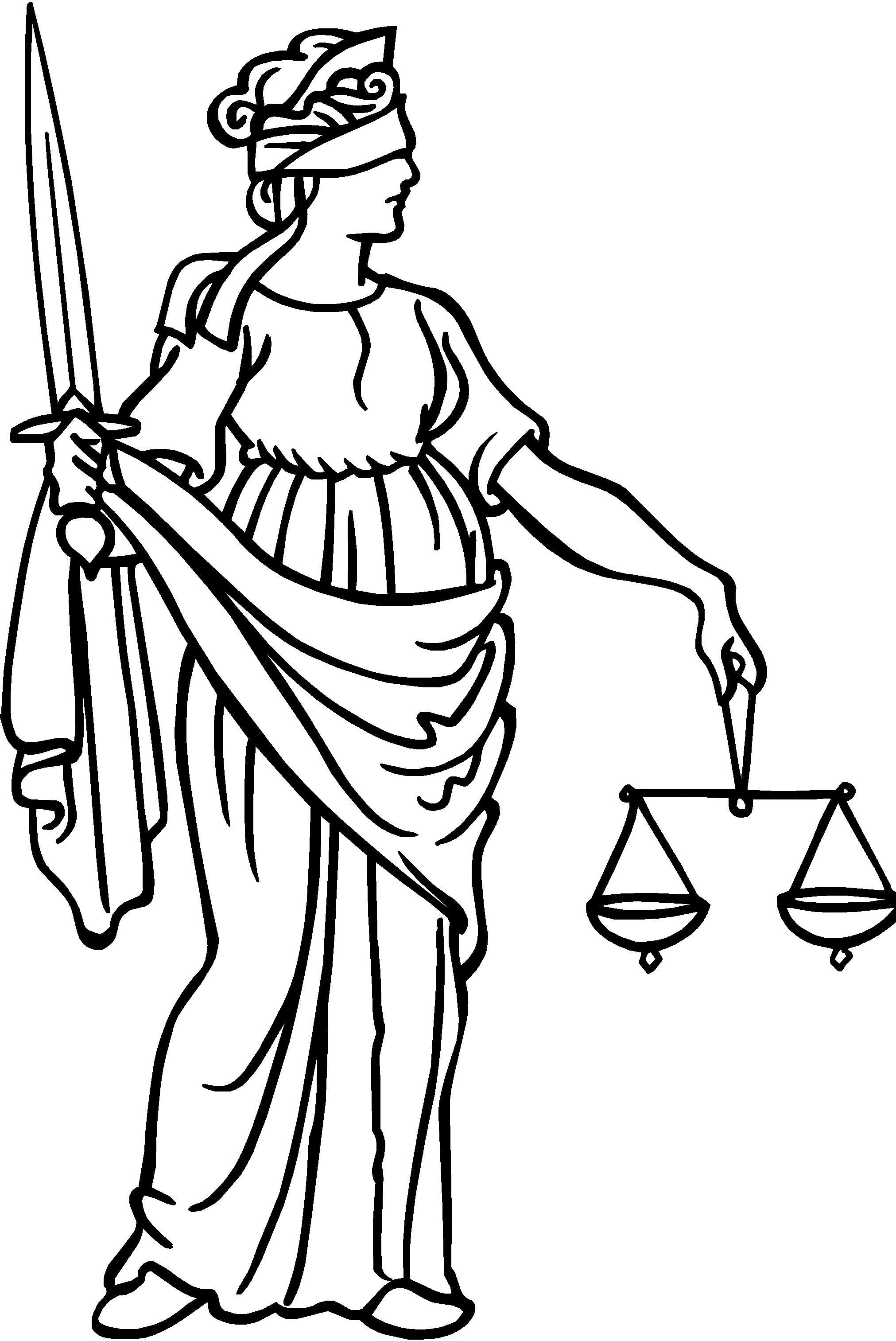 lady justice clipart clipart suggest