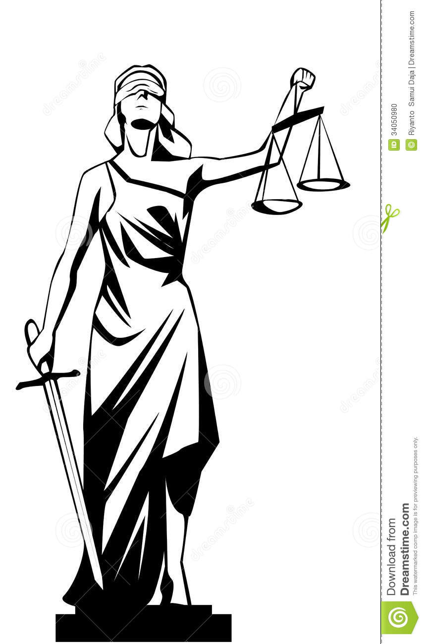 Lady Justice Stock Photo   Image  34050980