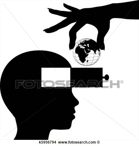 Mind Learn World Knowledge Education  Fotosearch   Search Clip Art