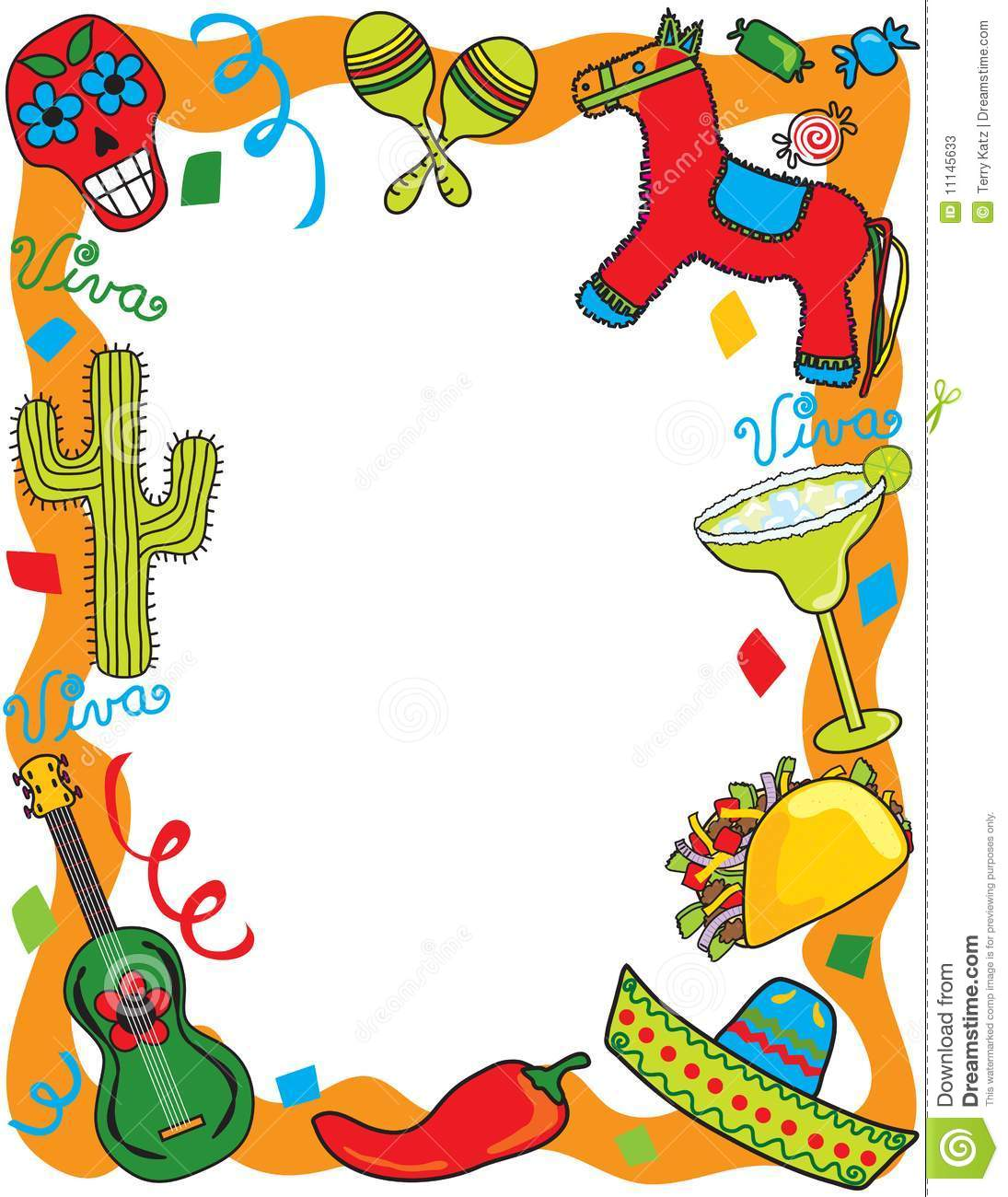 More Similar Stock Images Of   Mexican Fiesta Party Invitation