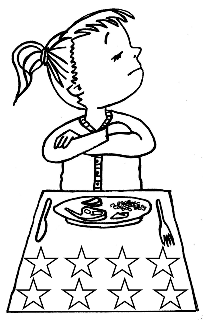good behavior coloring pages - photo#24